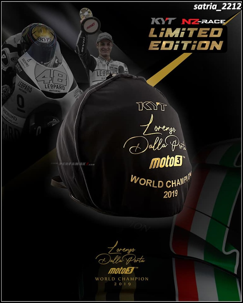 KYT NZ Race World Champion Gold Edition Limited