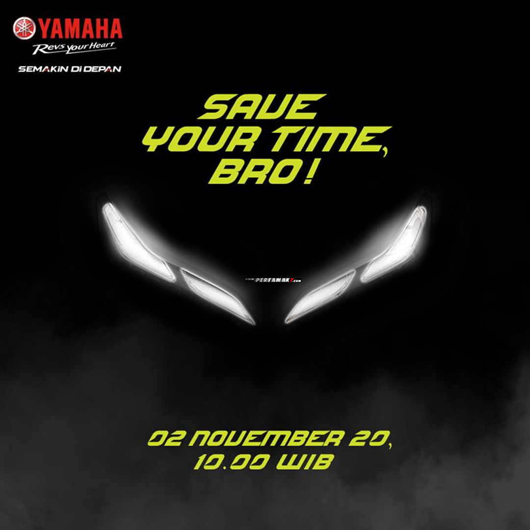 Save The Date Yamaha Indonesia 2 November 2020