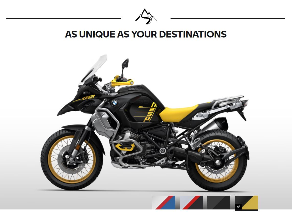 Warna Baru BMW R1250GS Adventure MY2021