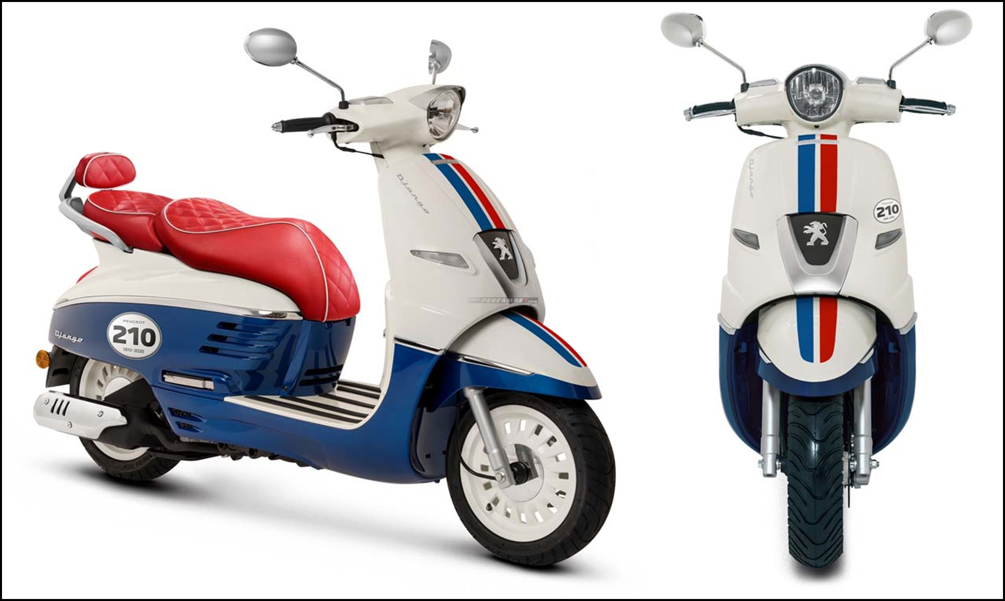 Peugeot Django 125 ABS 210th Anniversary Limited Edition