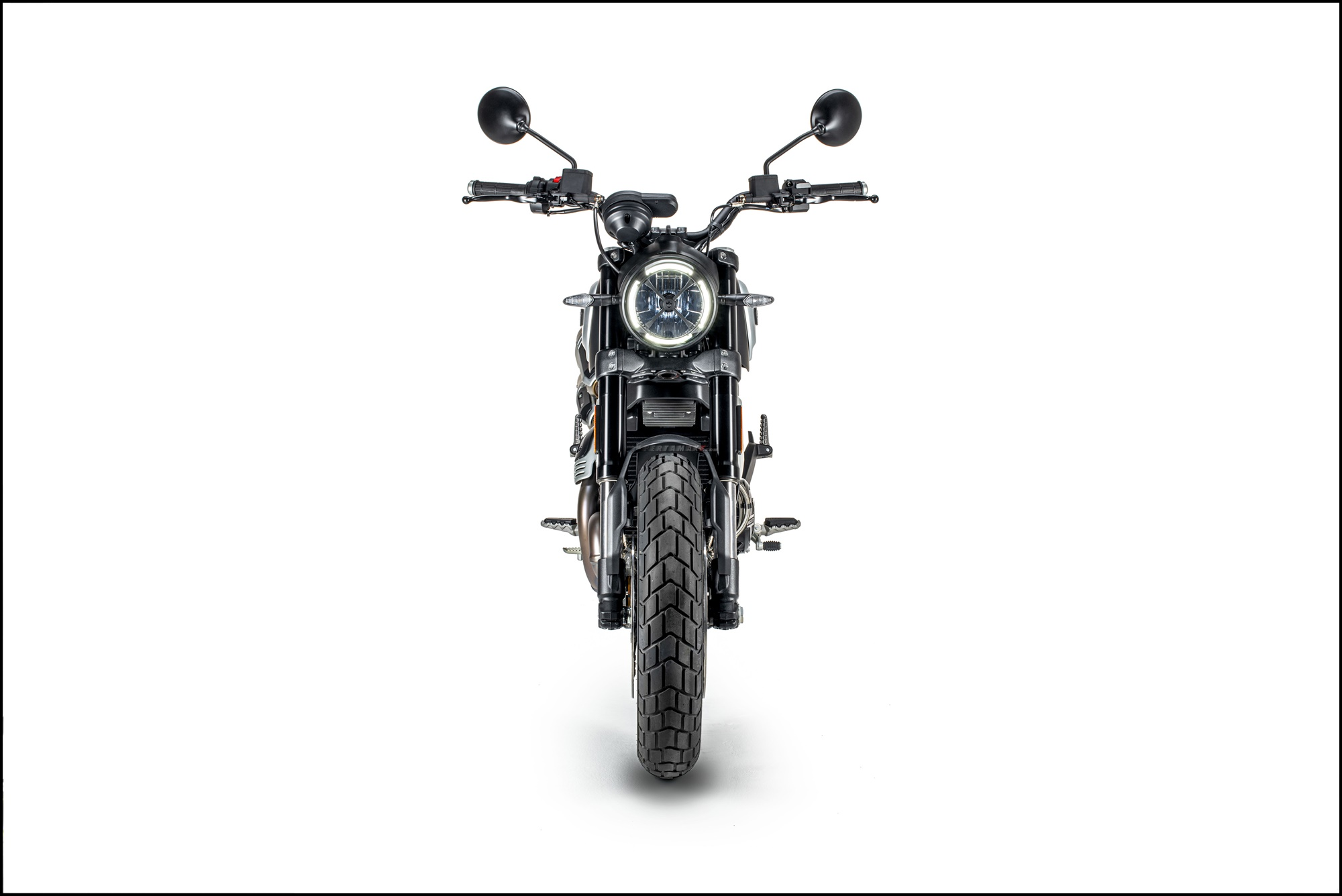 Wallpaper Ducati Scrambler 1100 PRO Dark Version