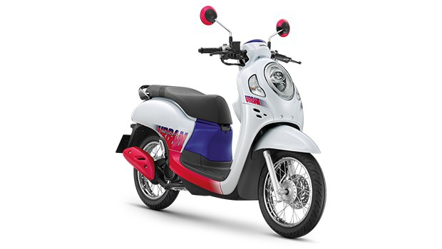 Warna All New Honda Scoopy Thailand