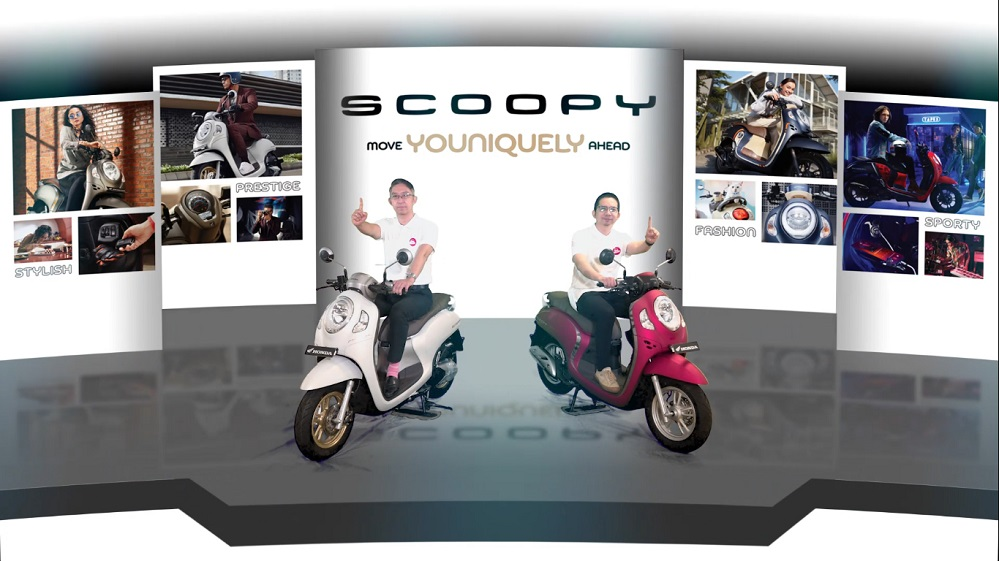 Astra Motor Yogyakarta Launching All New Honda Scoopy Secara Virtual