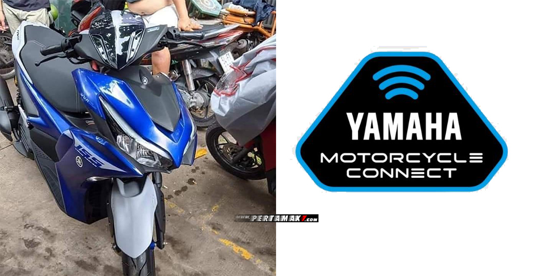 Bakal Calon Yamaha New Aerox 155 S ABS Connected