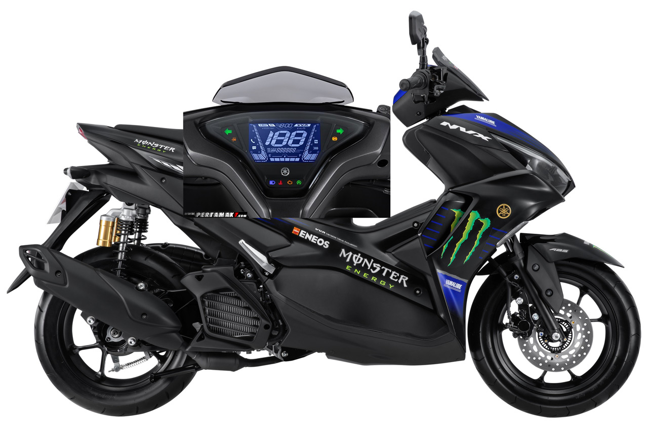 Bedah Fitur Speedometer Yamaha All New Aerox Connected