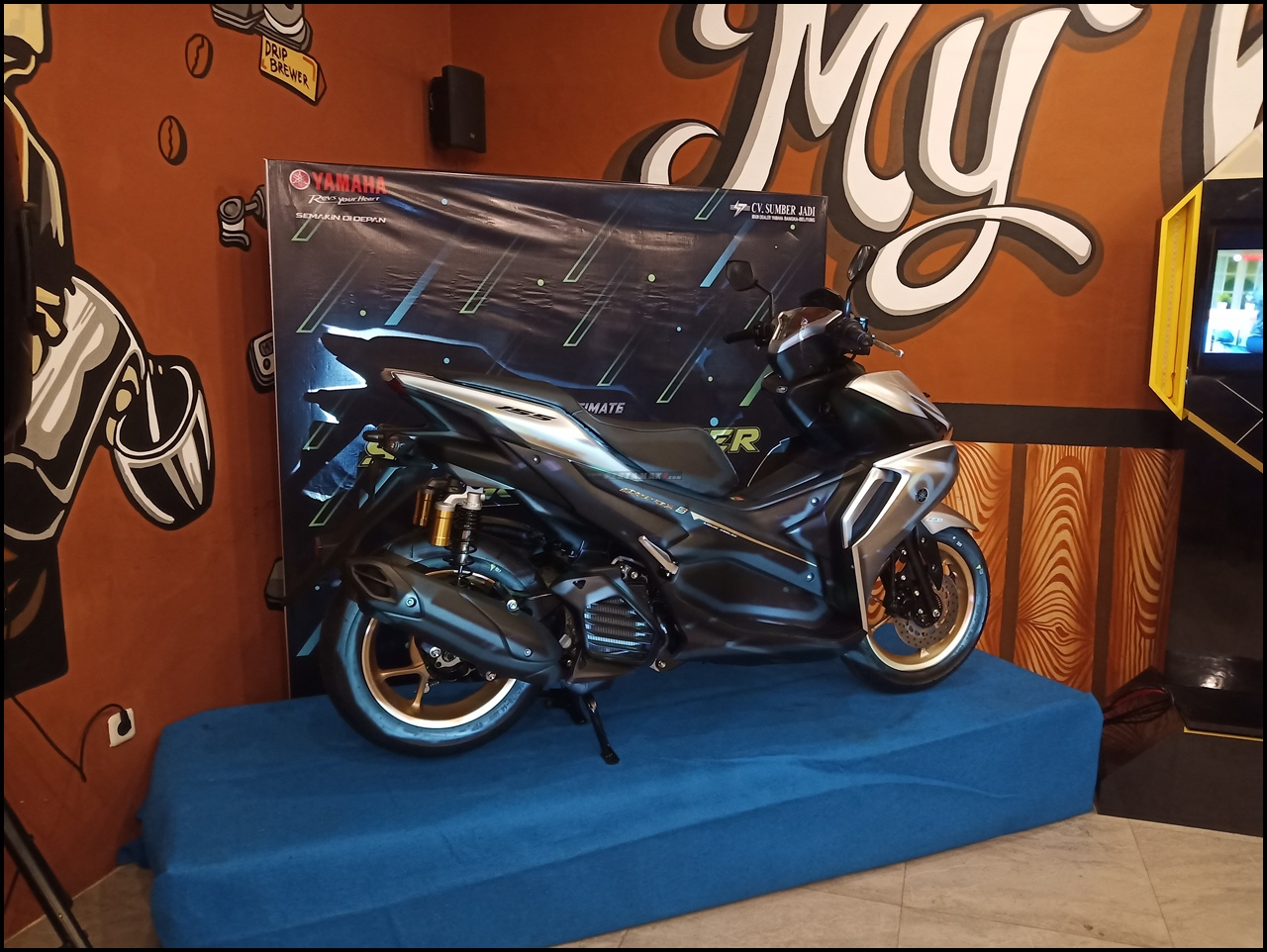 Harga Yamaha Aerox Connected Bangka Belitung