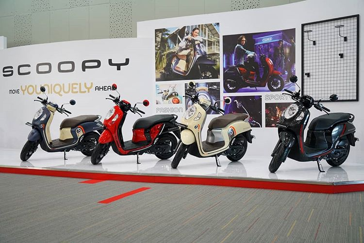 Launching All New Honda Scoopy 2021
