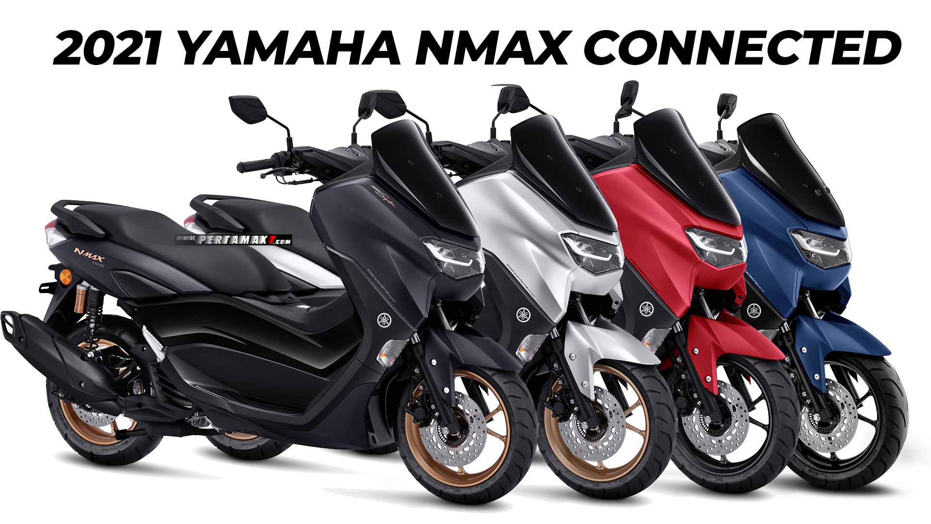 Pilihan Warna Yamaha NMAX Connected 155 Keyless Non ABS