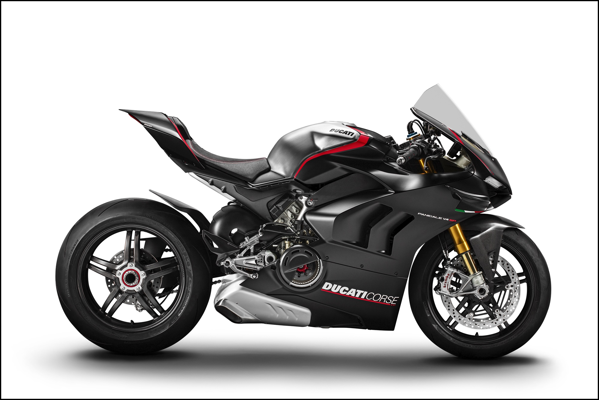 Wallpaper Ducati Panigale V4 SP MY2021 Carbon Fibre