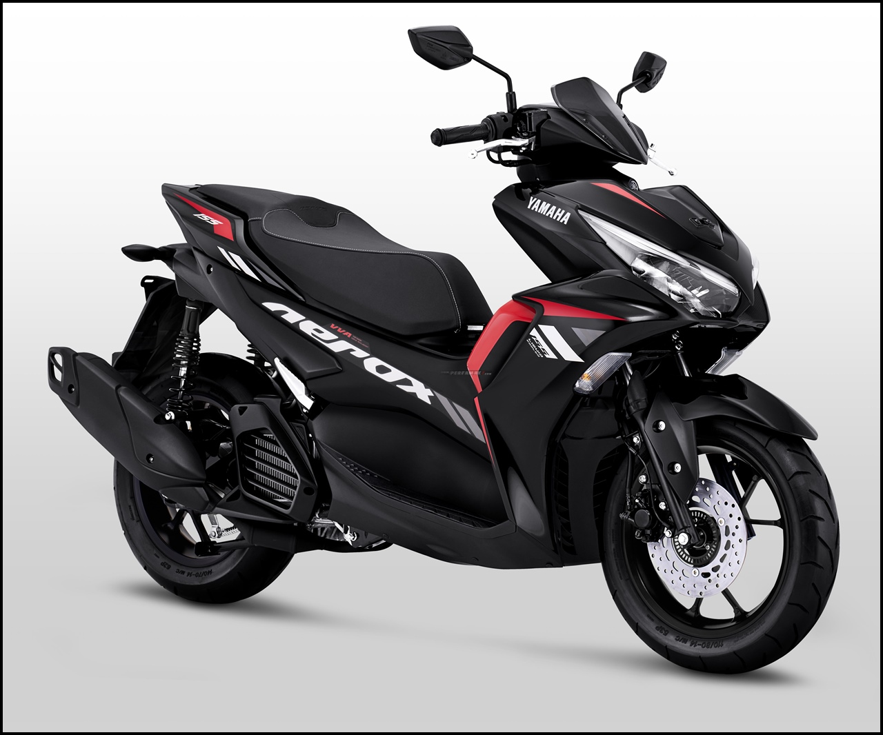 Pilihan Warna Yamaha Aerox 155 Connected Non ABS