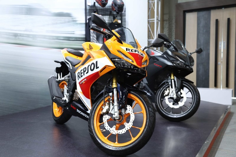 Harga Honda CBR150R Facelift 2021 Upside Down