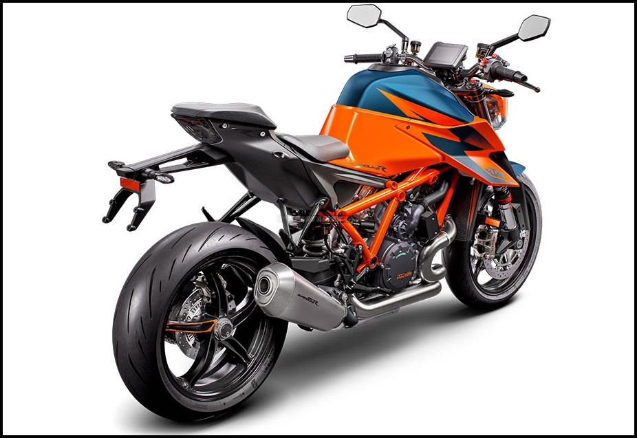 Warna Baru KTM 1290 SUPER DUKE R MY2021 EURO5