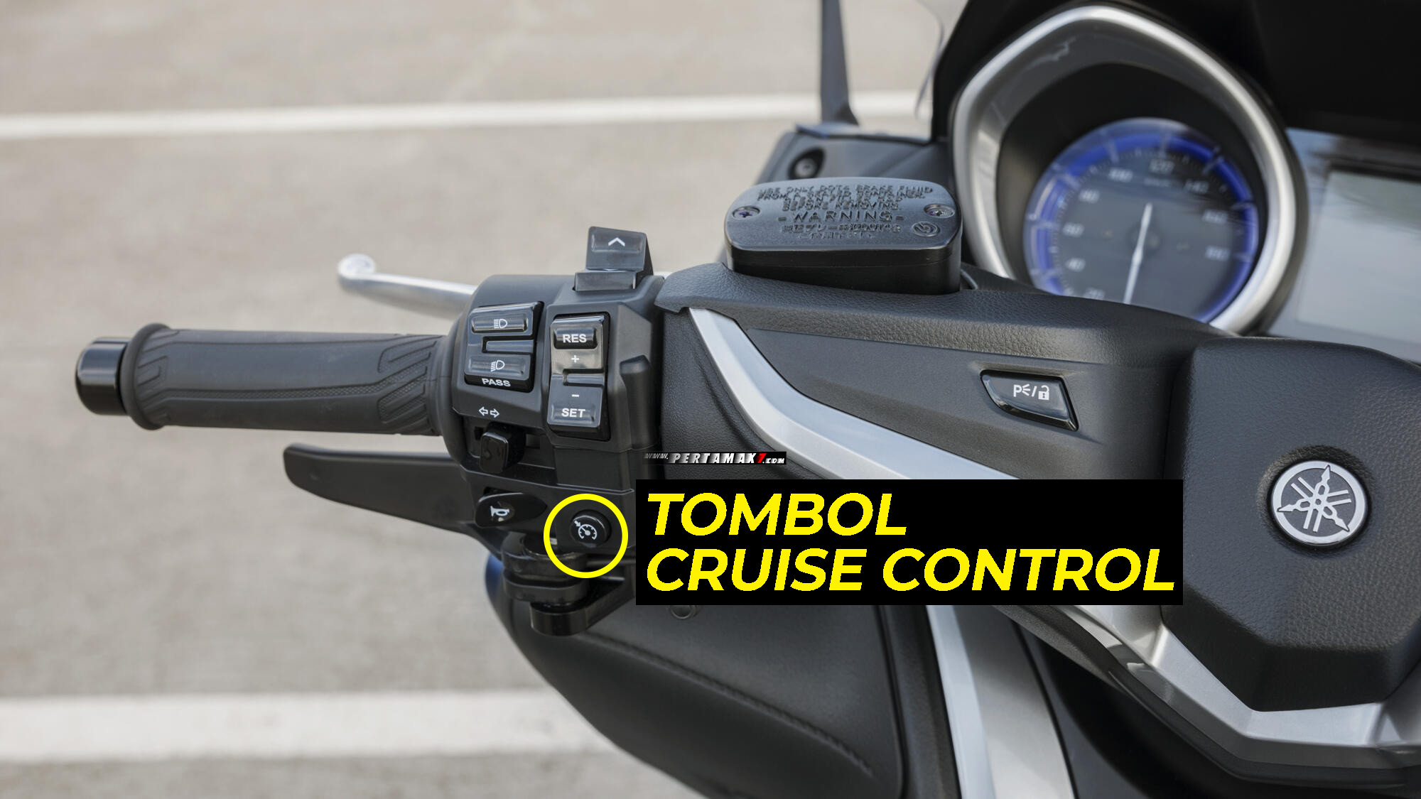 Recall Yamaha TMAX Indonesia Front Stop Switch Fungsi Cruise Control