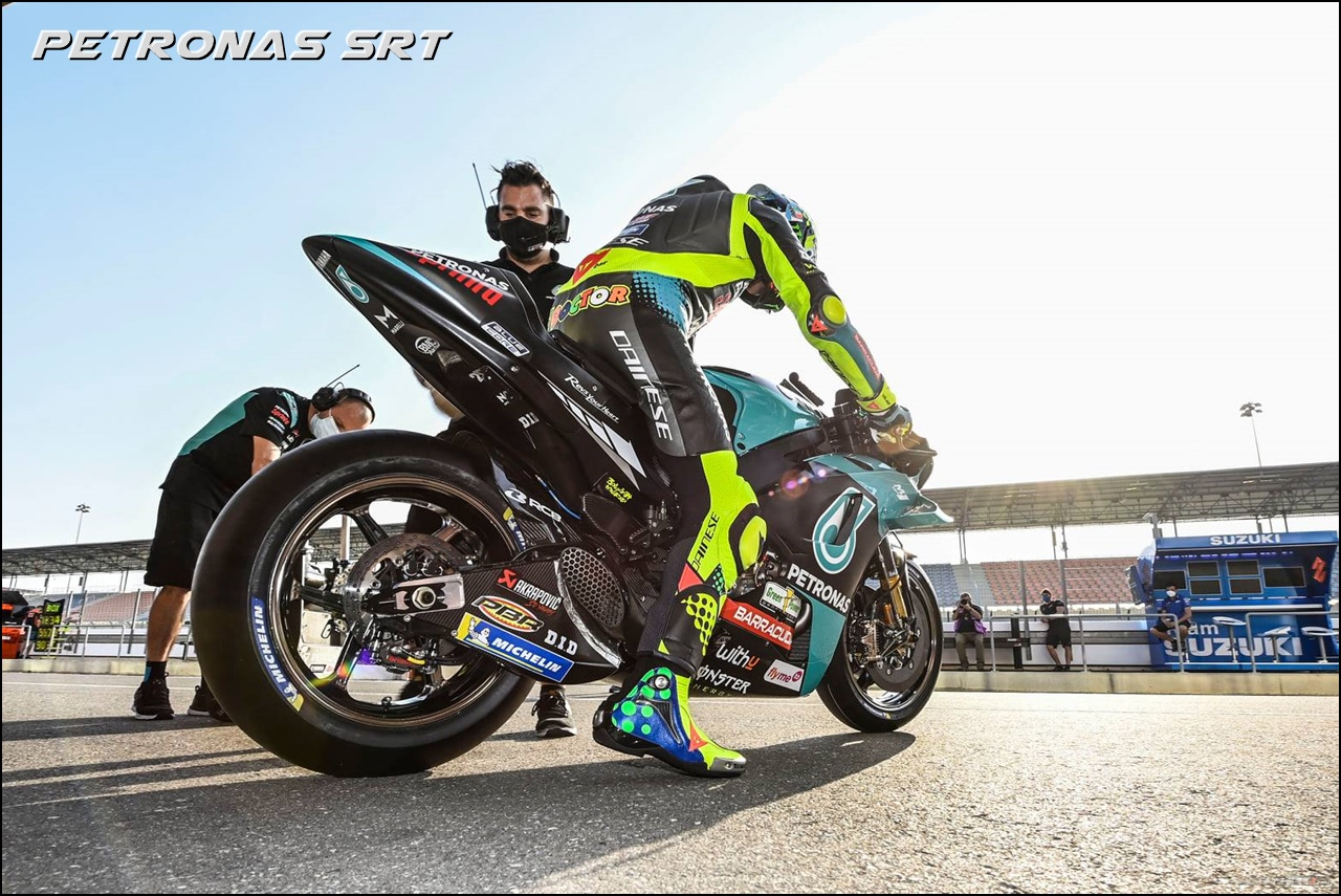 Debut Valentino Rossi Petronas Sepang Racing Team