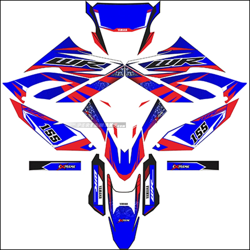 Decal Yamaha WR155R Extreme
