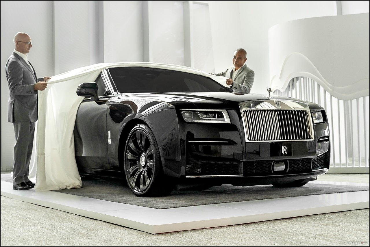 Launching Rolls-Royce New Ghost Indonesia