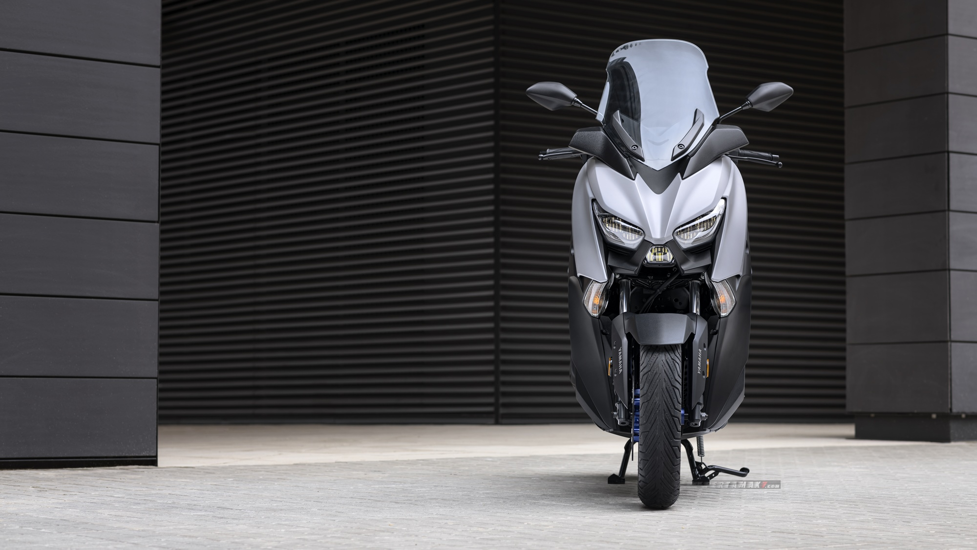 Wallpaper Yamaha XMAX Icon Grey Matte
