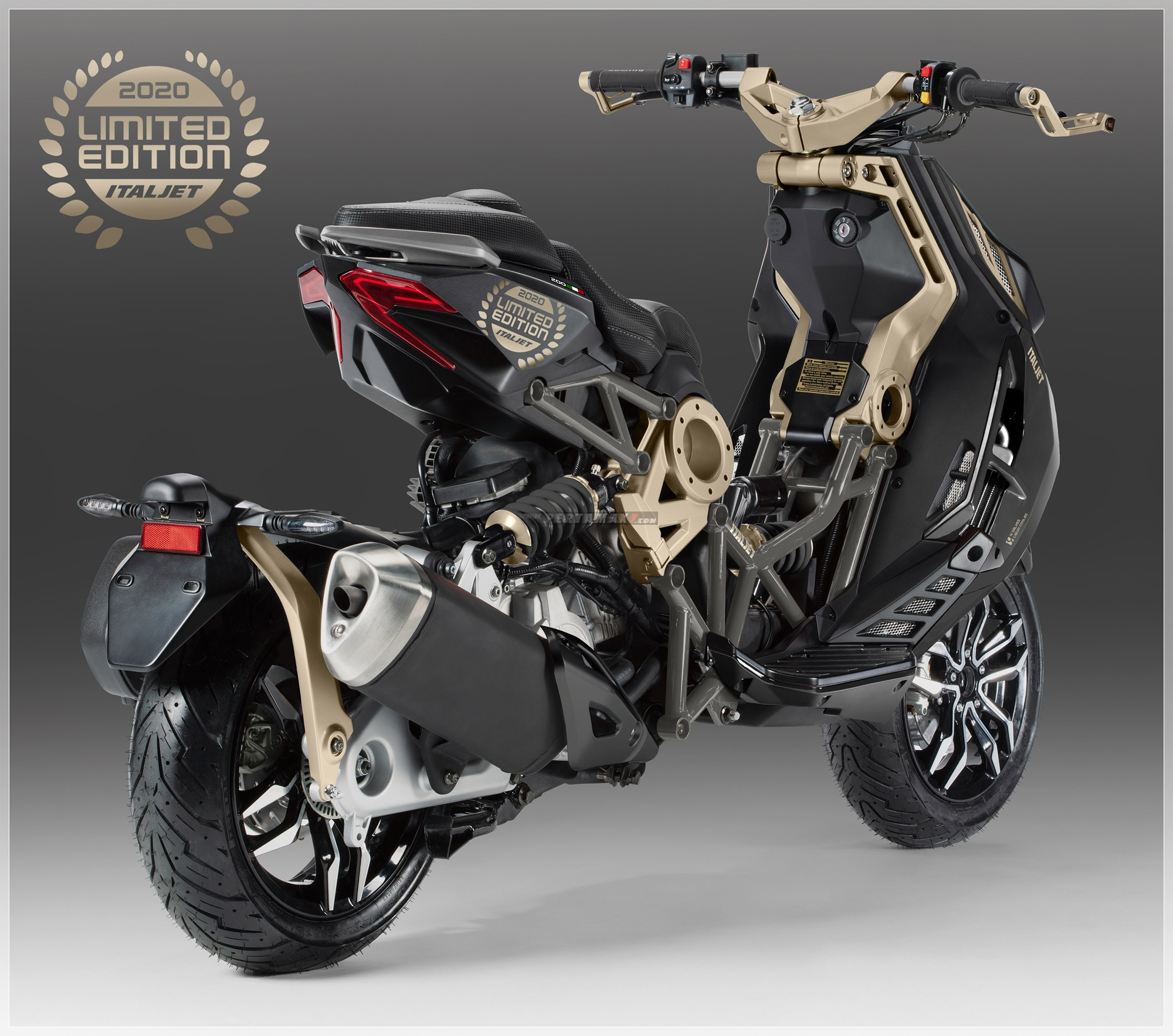 Harga Italjet Dragster Limited Edition Indonesia