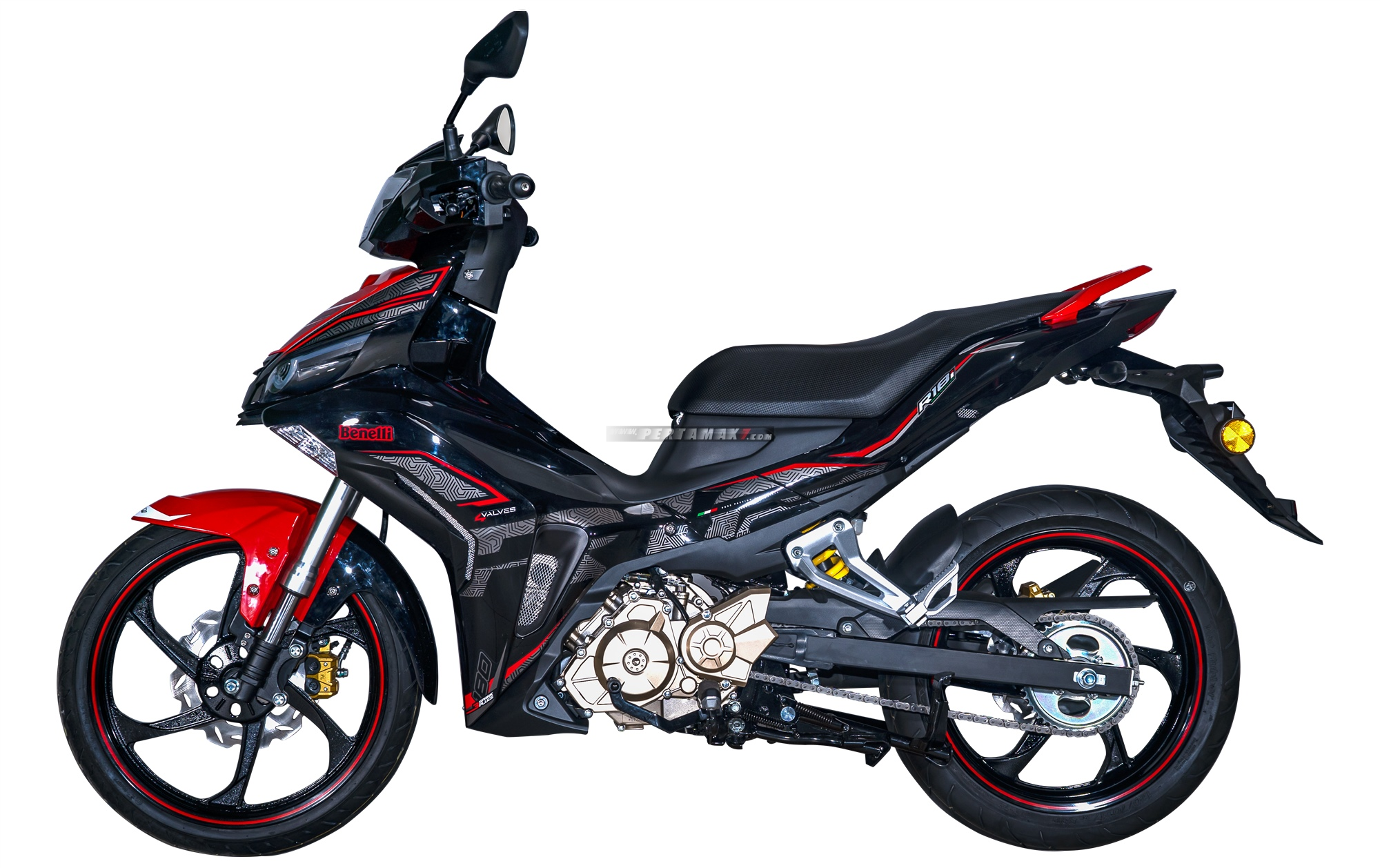 Pilihan Warna Benelli R18i Super Moped