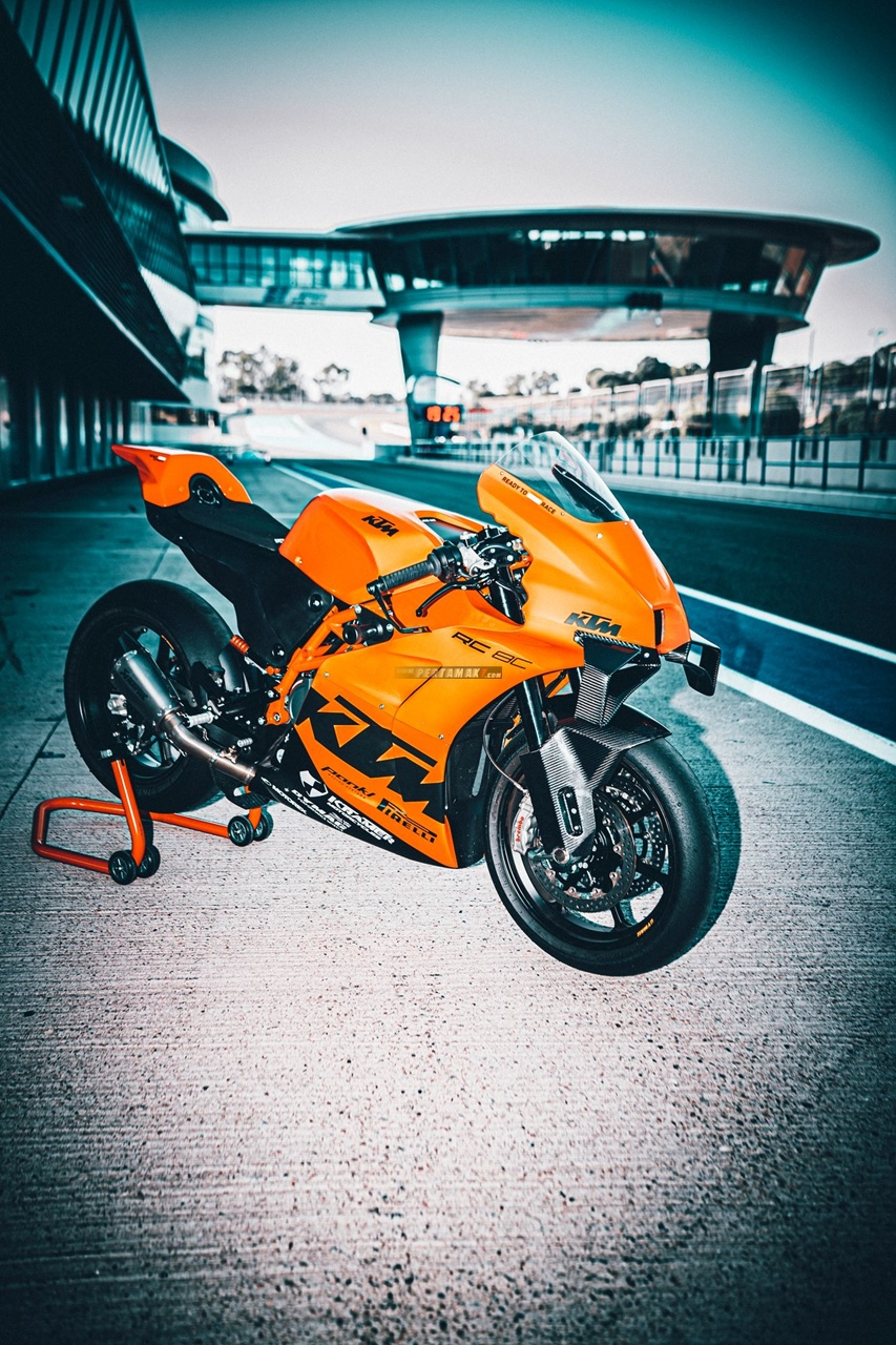 Wallpaper KTM RC 8C Track Only Extreme Hyperfocus Limited Edition 02 P7