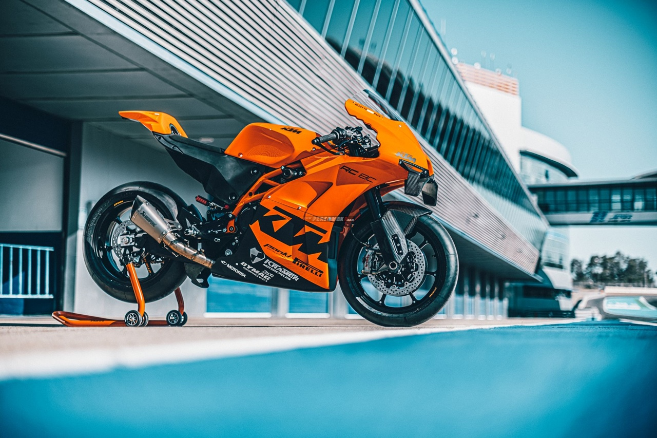 Wallpaper KTM RC 8C Track Only Extreme Hyperfocus Limited Edition 06 P7